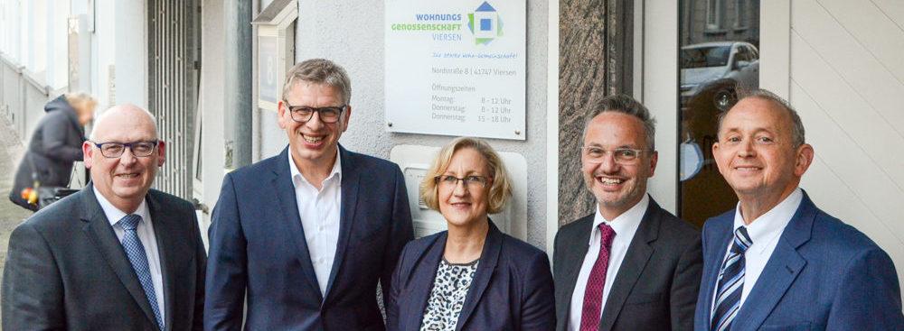 Die Wohnungsgenossenschaft Viersen hat eine positive Bilanz vorgelegt.